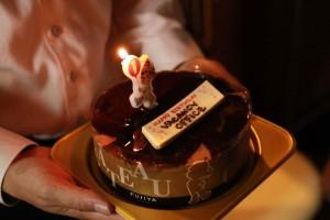 コワーキングスペース 1周年 ケーキ