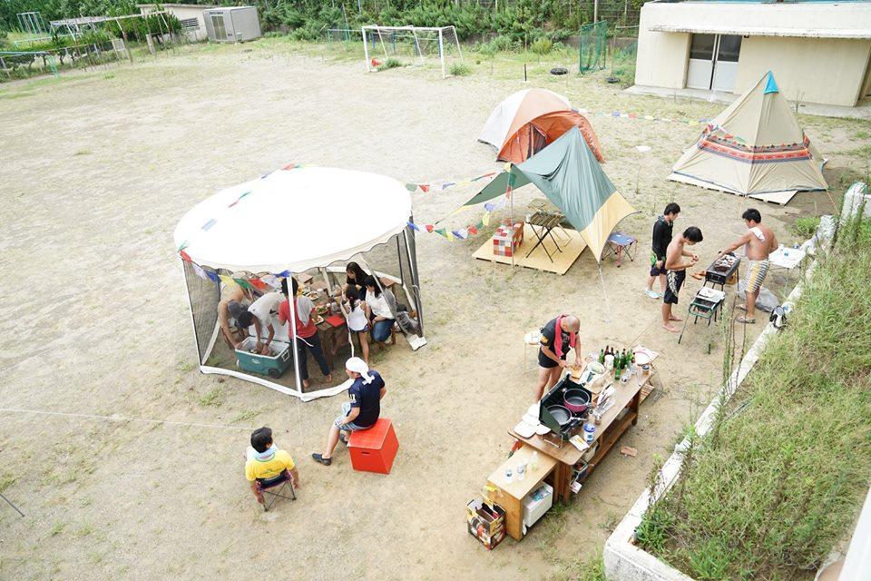 Vacancyキャンプ in 勝浦